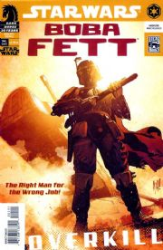 Boba Fett Overkill One Shot (2006) Adam Hughes Dark Horse comic book